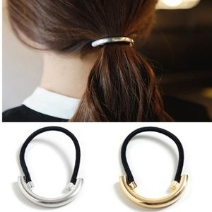 5 for $25 Metal Cuff Decorated Hair Tie